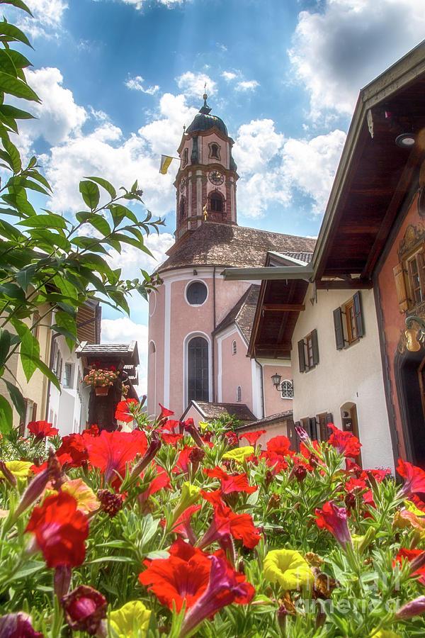 Mittenwalder Church by Fabian Roessler