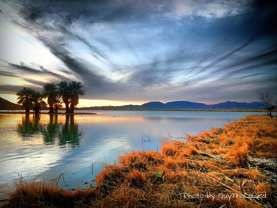 Mittry Lake 002 by Guy Hoffman