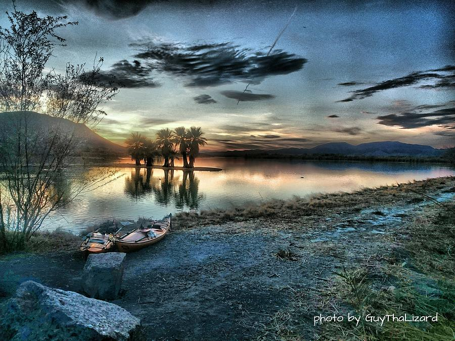 Mittry Lake 003 by Guy Hoffman