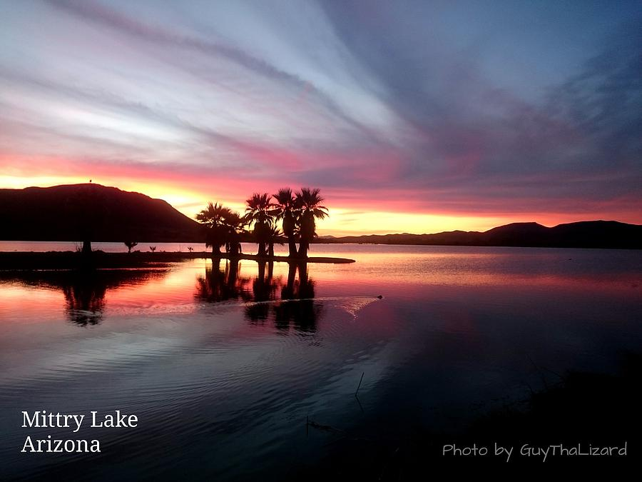 Mittry Lake 005 by Guy Hoffman