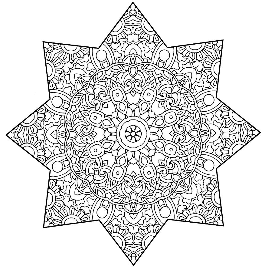 Coloring Books Drawing - Mixed Coloring Book 1 by Kathy G. Ahrens