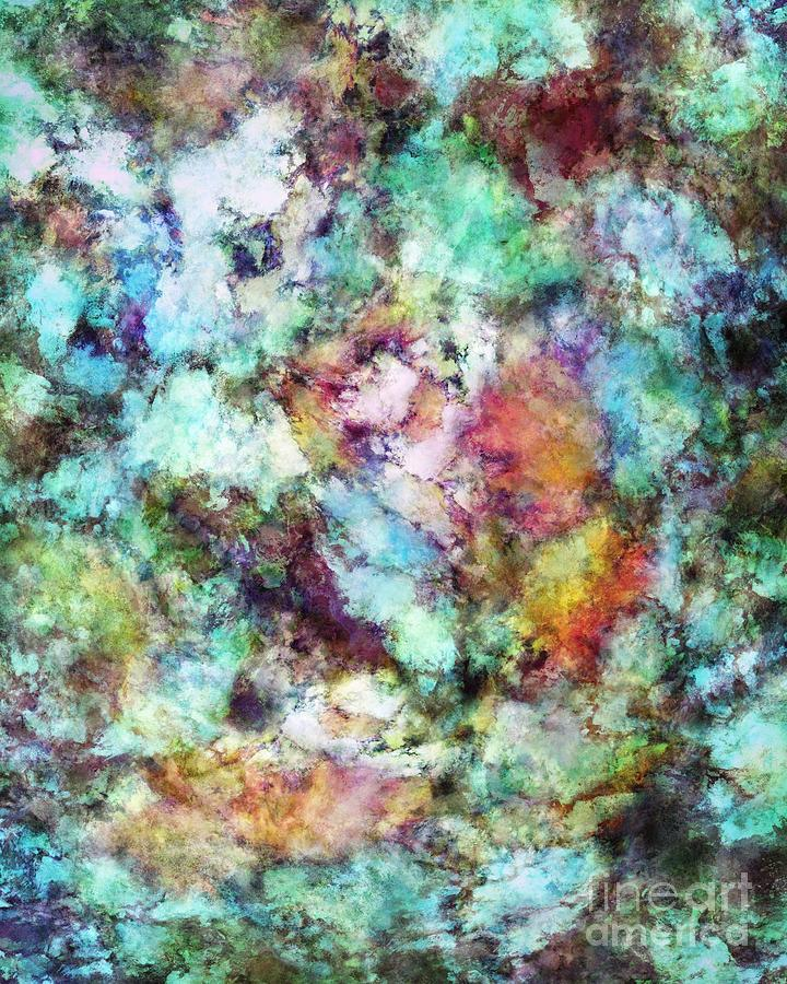 Turquoise Digital Art - Mixed Emotions by Keith Mills