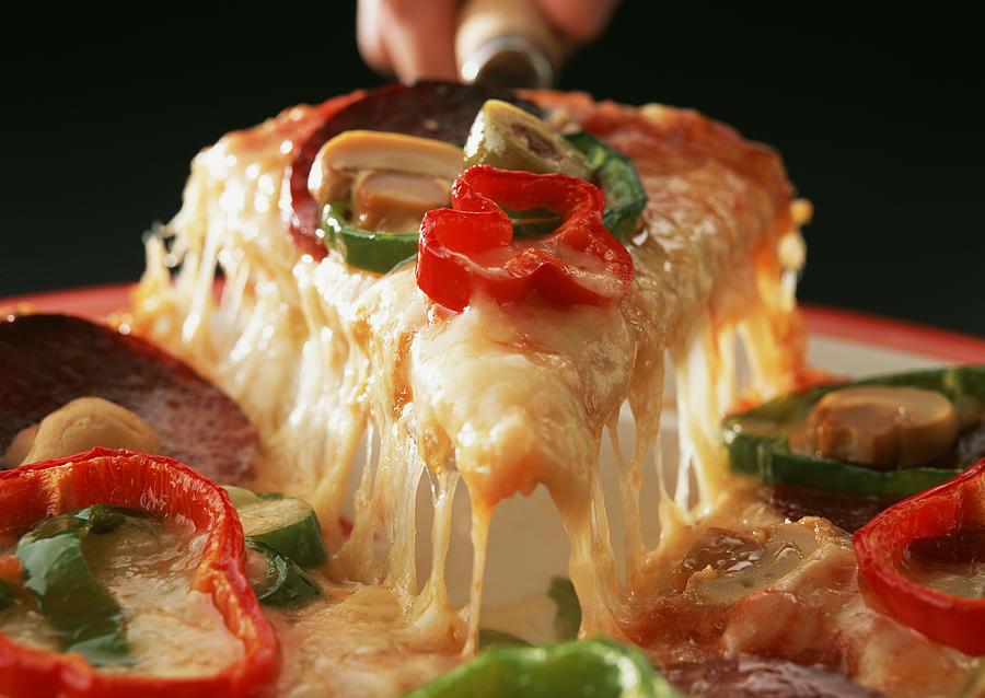Mixed Pizza Photograph by Imagenavi