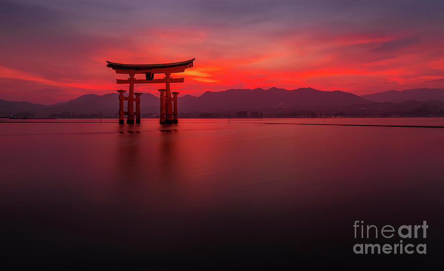 Miyajima Sunset by Paul Woodford