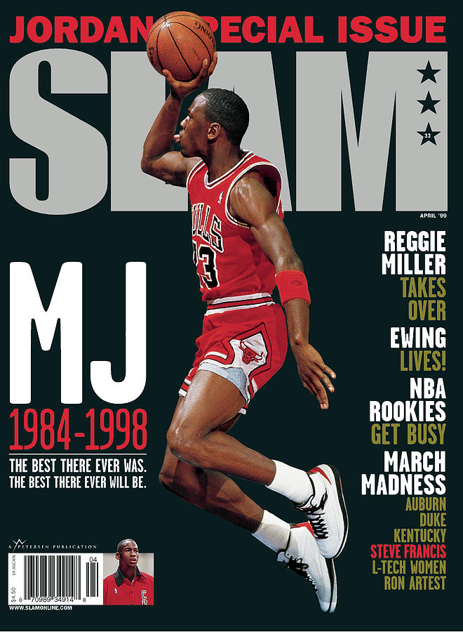 MJ 1984-1998: The Best There Ever Was. The Best There Ever Will Be. SLAM Cover Photograph by Getty Images