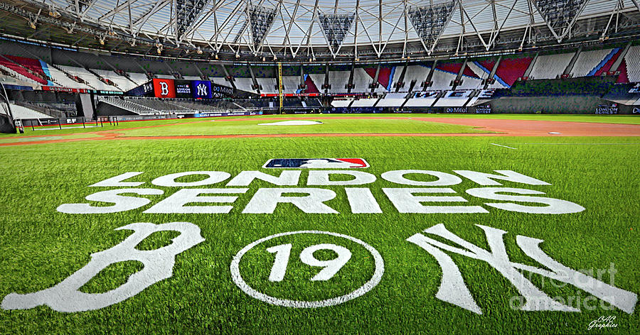 MLB London Series by CAC Graphics
