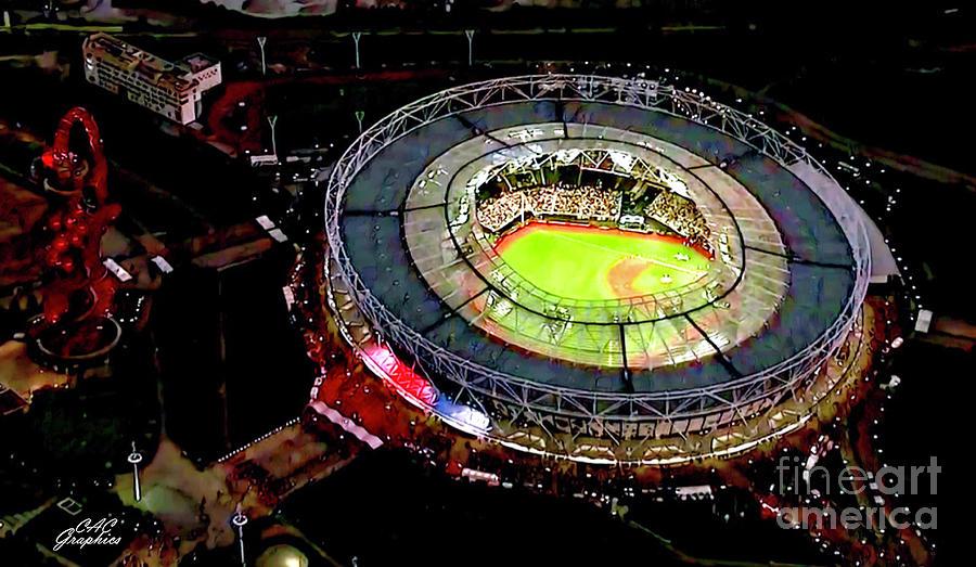 MLB London Stadium by CAC Graphics