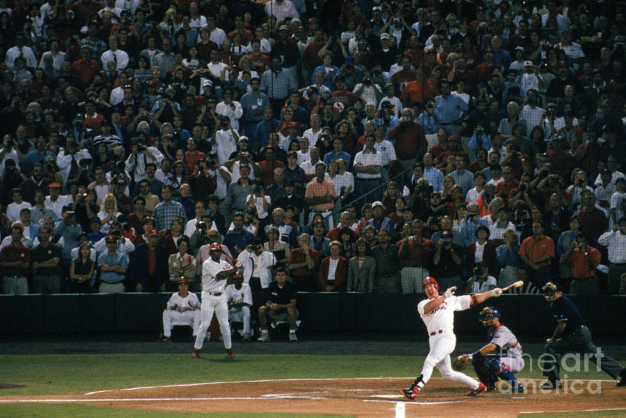 Mlb Photos Archive Photograph by Bill Stover