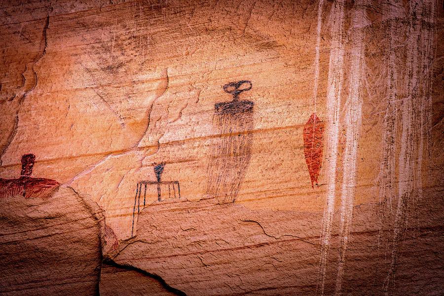 Moab Pictographs by Paul LeSage