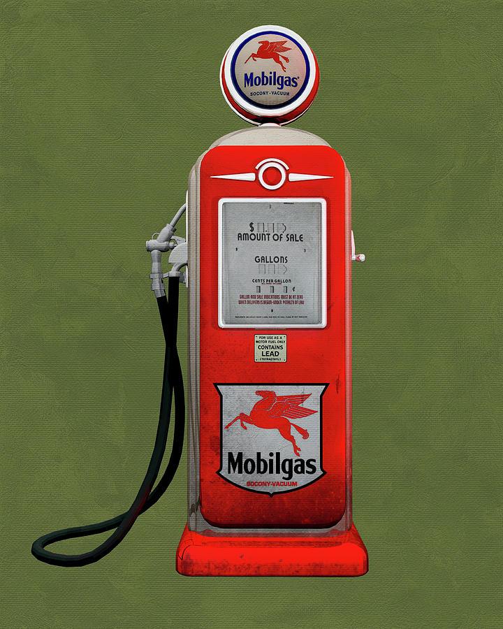 Mobile Gas by Jan Keteleer