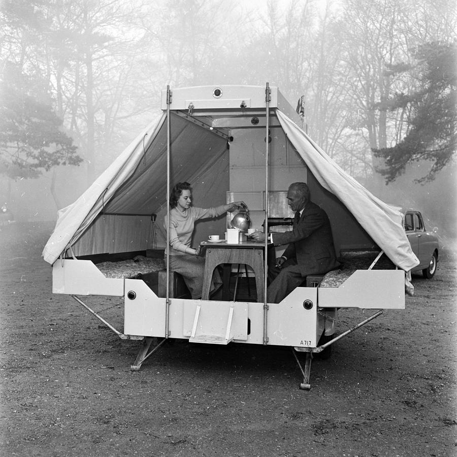 Mobile Home Photograph by Harry Kerr