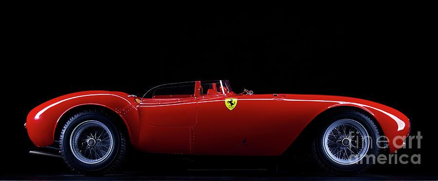 Model Ferrari 375 Plus Photograph by Simonbradfield