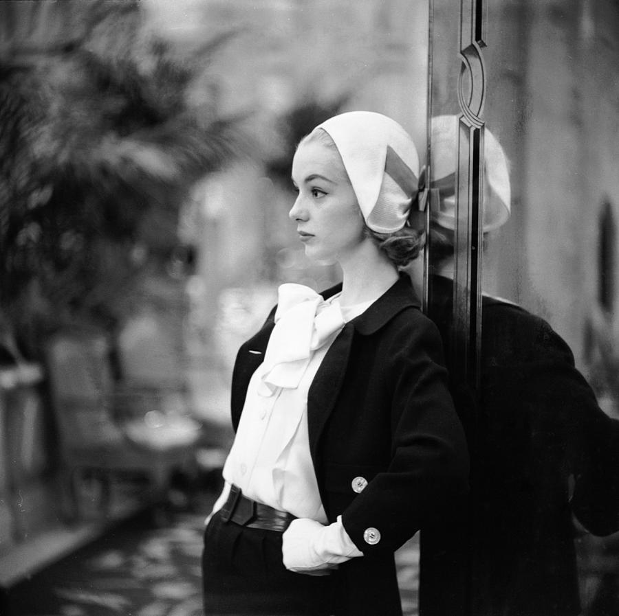 Model In Suit Photograph by Gordon Parks