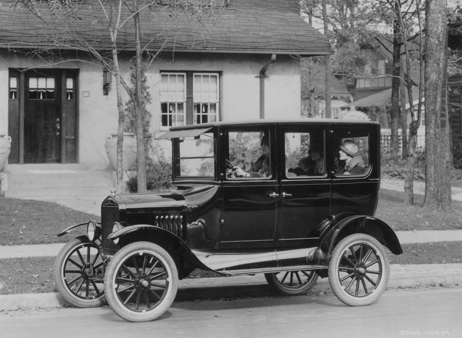 Model T Ford Photograph by Three Lions