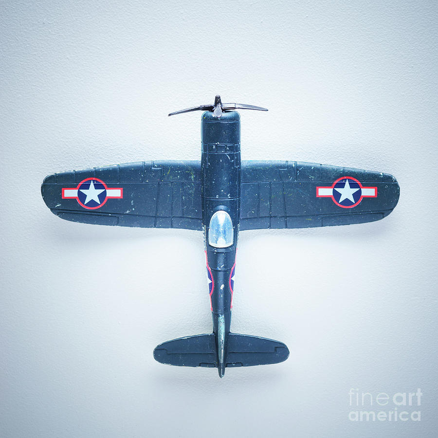 Model Toy Vintage Airplane Photograph by Thepalmer