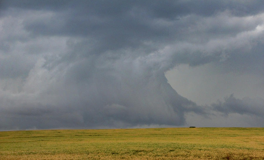 Cloudscape Photograph - Moderate Risk Bust Chase Day 020 by NebraskaSC