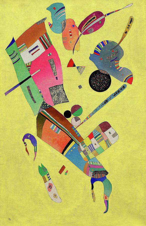 Wassily Kandinsky Painting - Moderation, 1940 by Wassily Kandinsky