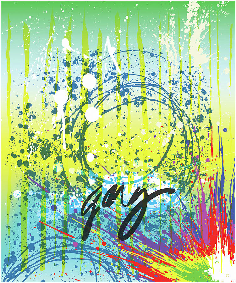 Modern Abstract Five by Gary Grayson