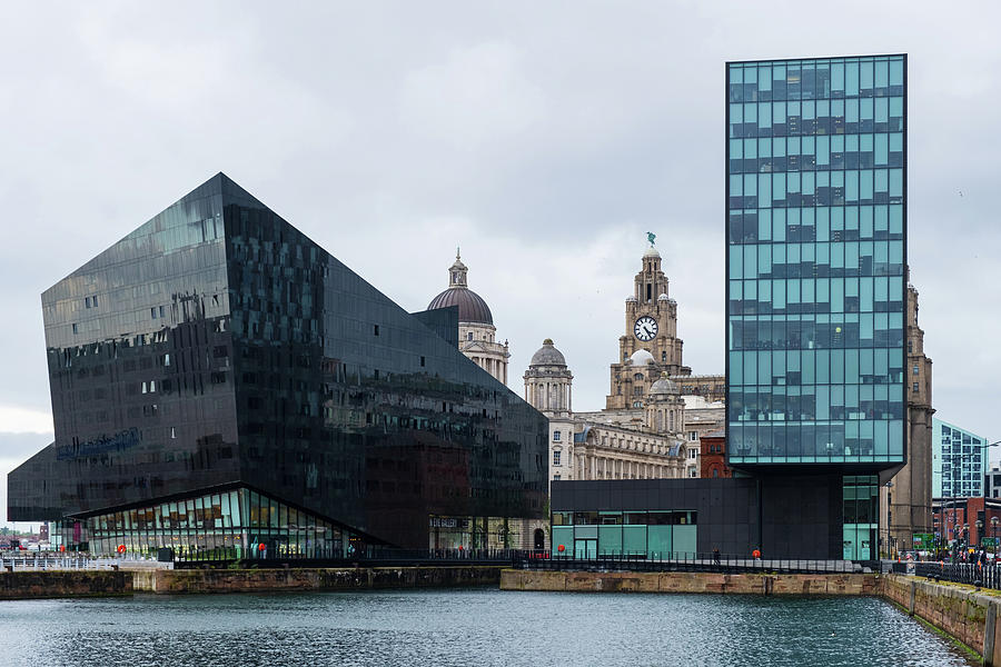Modern and classic architecture at the Liverpool Docks by IORDANIS PALLIKARAS