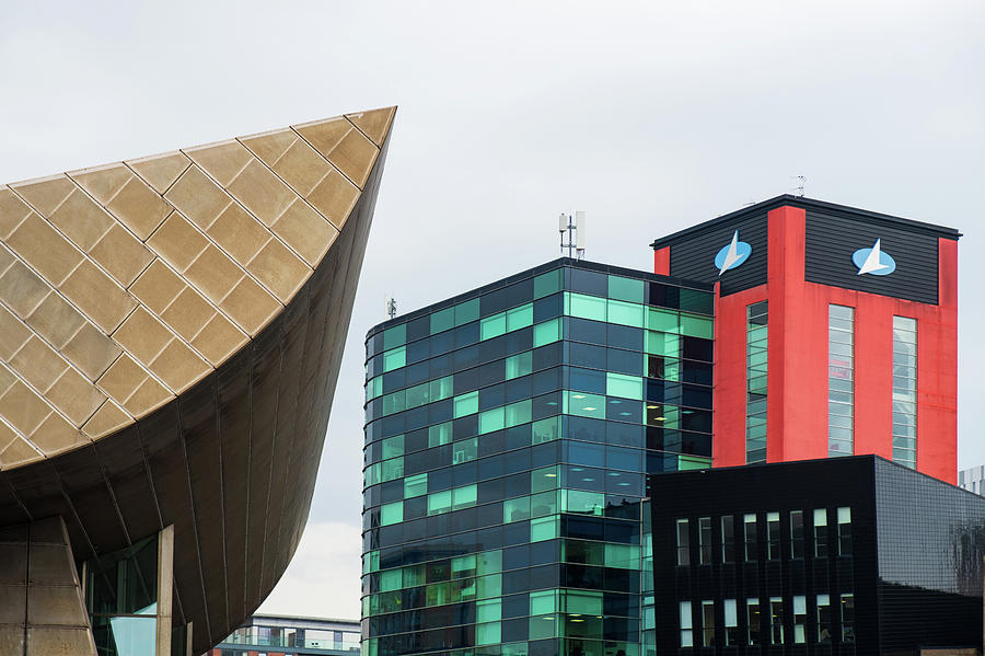 Modern architectural buildings at the Lowry 2 by IORDANIS PALLIKARAS