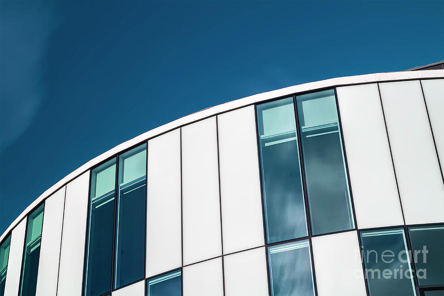 Modern architecture detail by Sophie McAulay