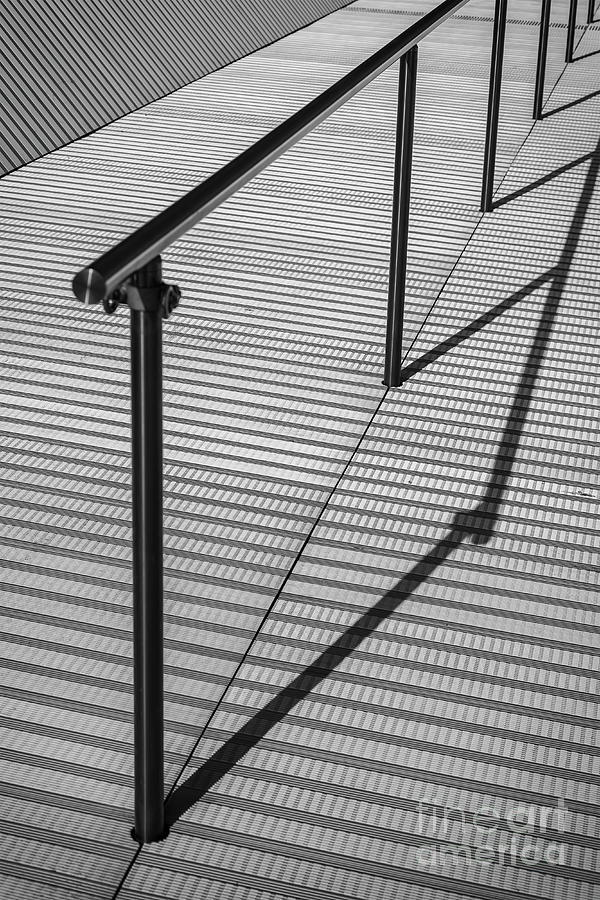 modern architecture railing by Sophie McAulay