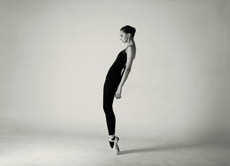 Modern Ballet Dancer Photograph by Lambada