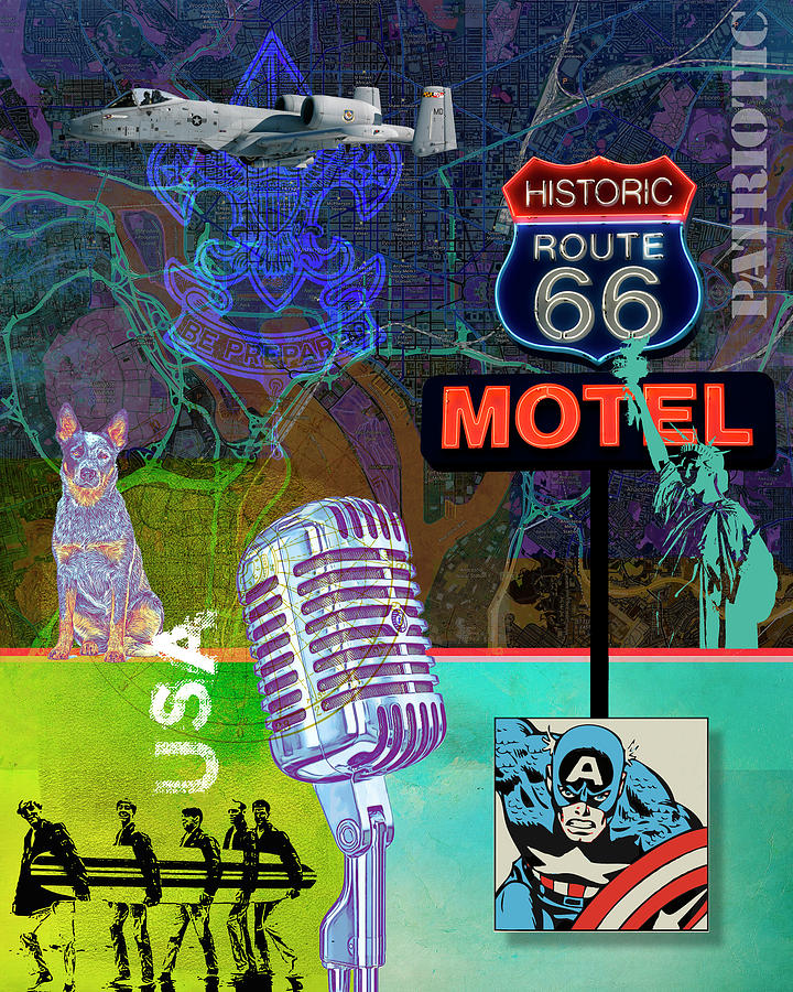 Route 66 by Gary Grayson