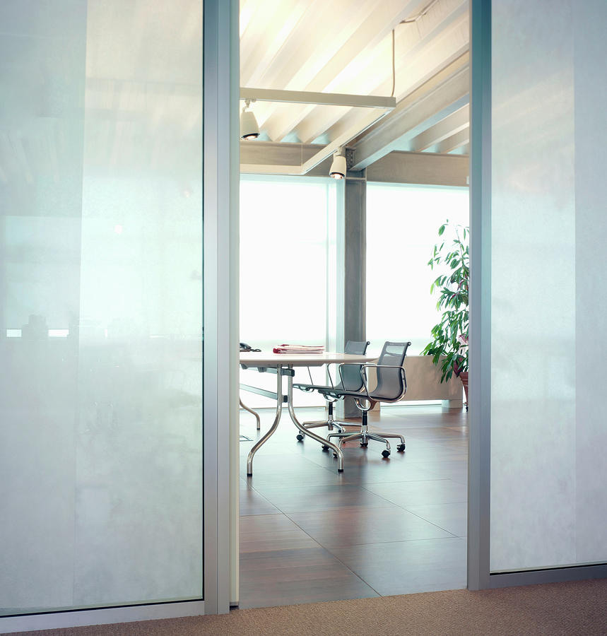 Modern Office Interior Photograph by Walter Zerla