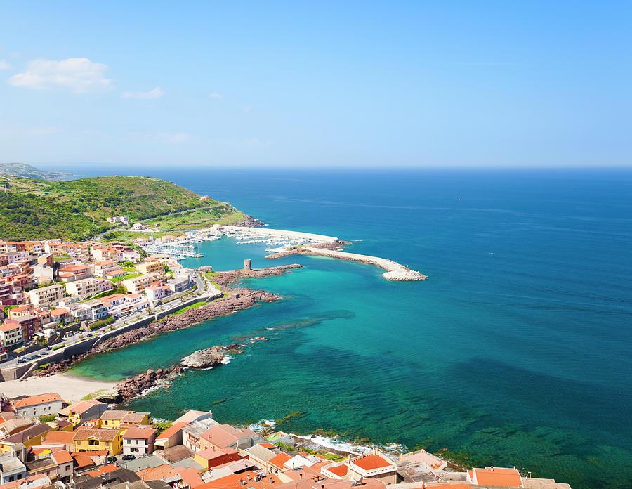 Modern Part Of Castelsardo Coast Photograph by Spooh