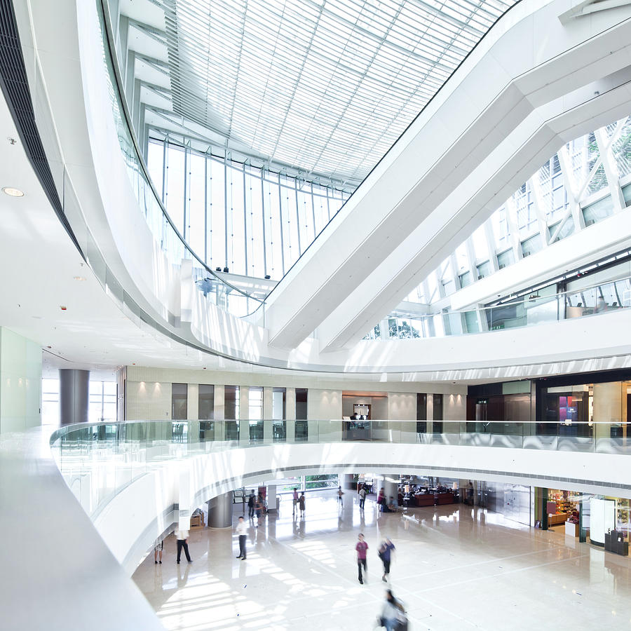 Modern Shopping Mall Photograph by Tomml