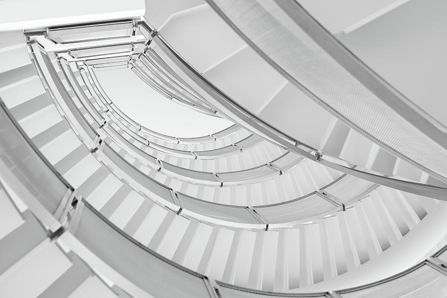 Modern Staircase Photograph by Szaffy