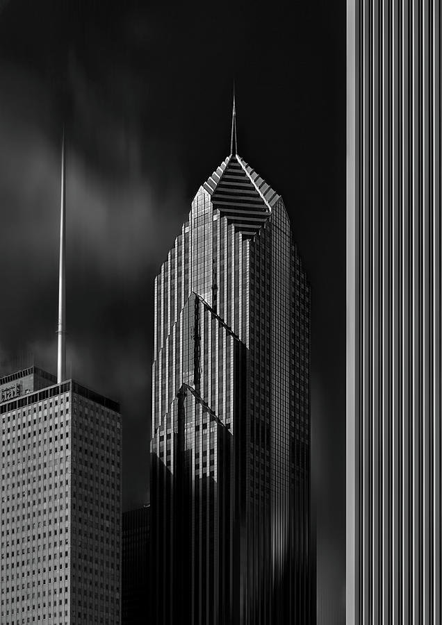 Chicago Photograph - Modern Tower by Zan Zhang