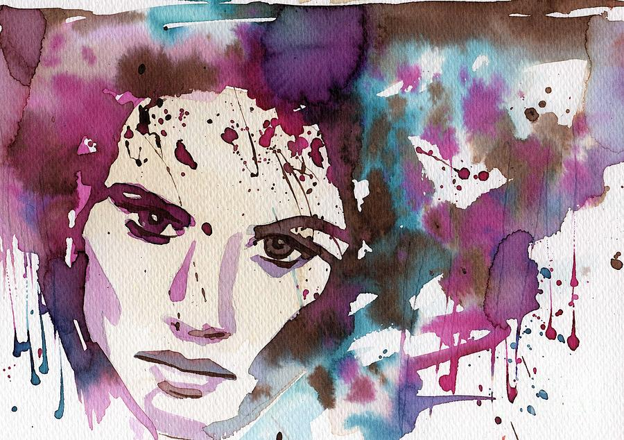 modern watercolor by Katarzyna Bruniewska-Gierczak