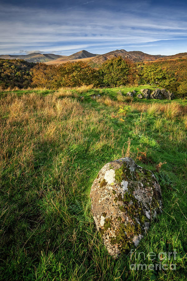Snowdonia Photograph - Moel Siabod Mountain Snowdonia by Adrian Evans