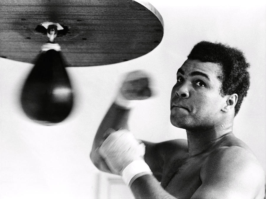 Mohammed Ali Photograph by Omikron -