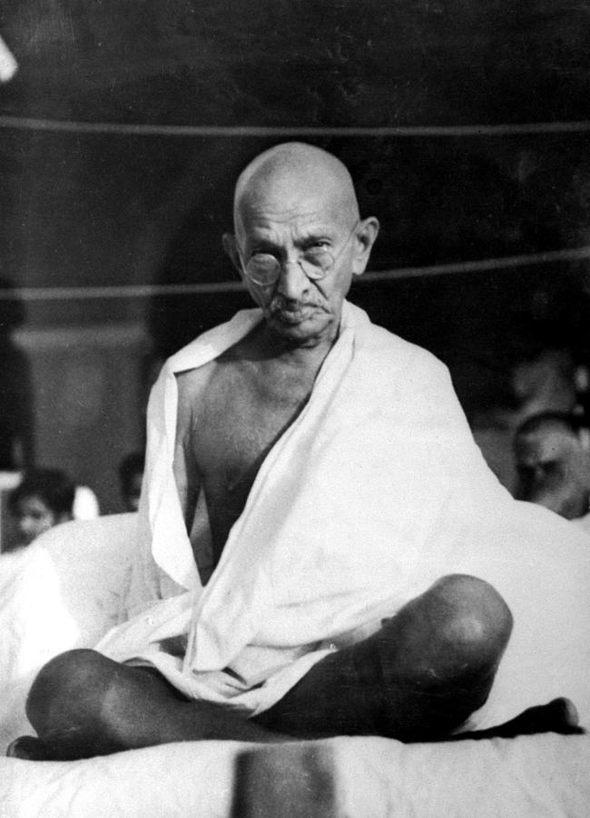 Mohandas K. Gandhi Photograph by Time Life Pictures