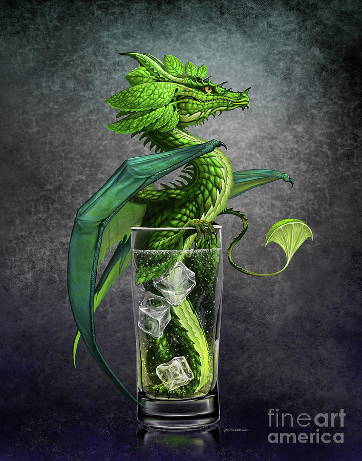 Mojito Dragon by Stanley Morrison