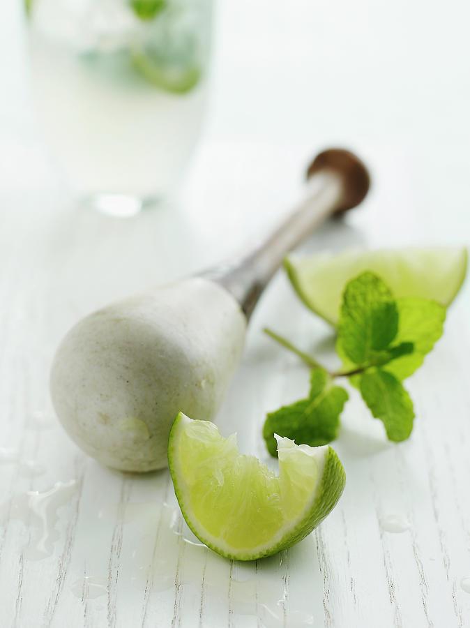 Mojito Ingredients Photograph by Alexandra Grablewski