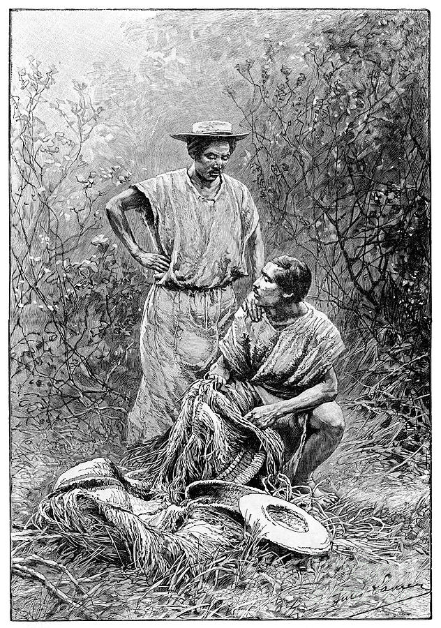 Mojos Indians, South America, 1895 Drawing by Print Collector