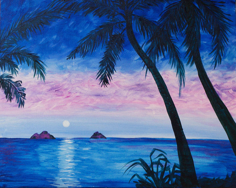 Mokulea Moonrise by Megan Collins