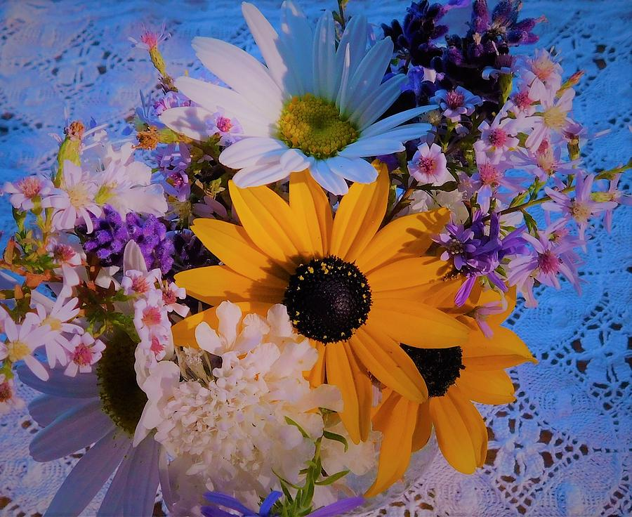 - Mom's Bouquet by - Theresa Nye