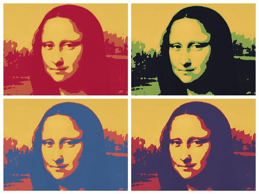 époustouflant Mona Lisa 2x2 Painting by Donald Stevenson #KX_55