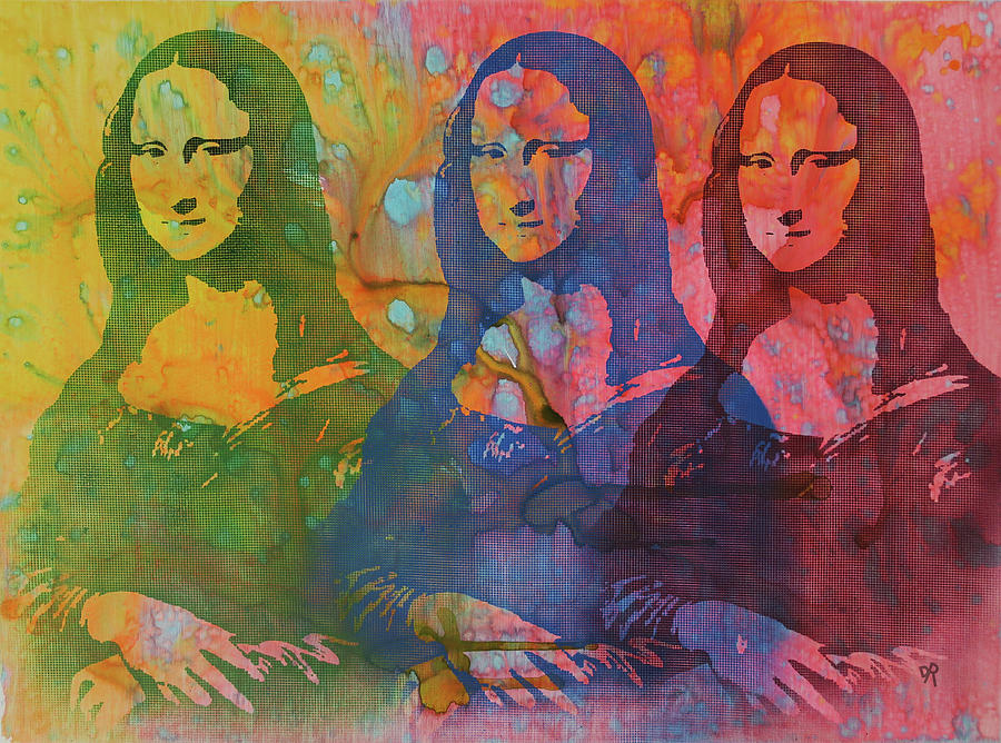 Mona Lisa 3UP by Dean Russo