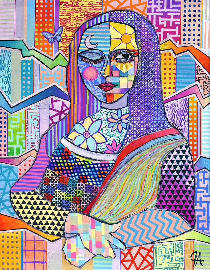 Mona Lisa Jeremy Style #2 by Jeremy Aiyadurai