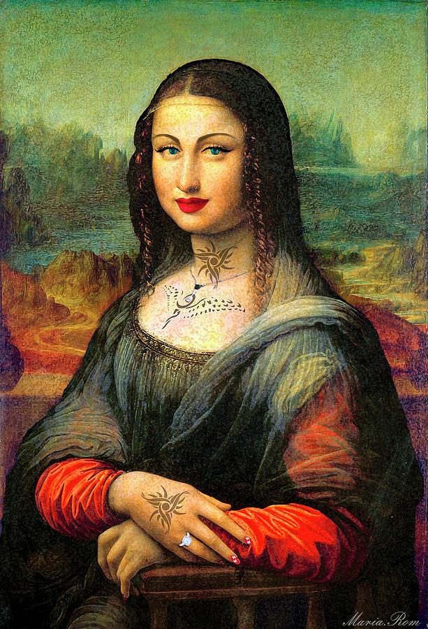 Mona Lisa by MARIA ROM