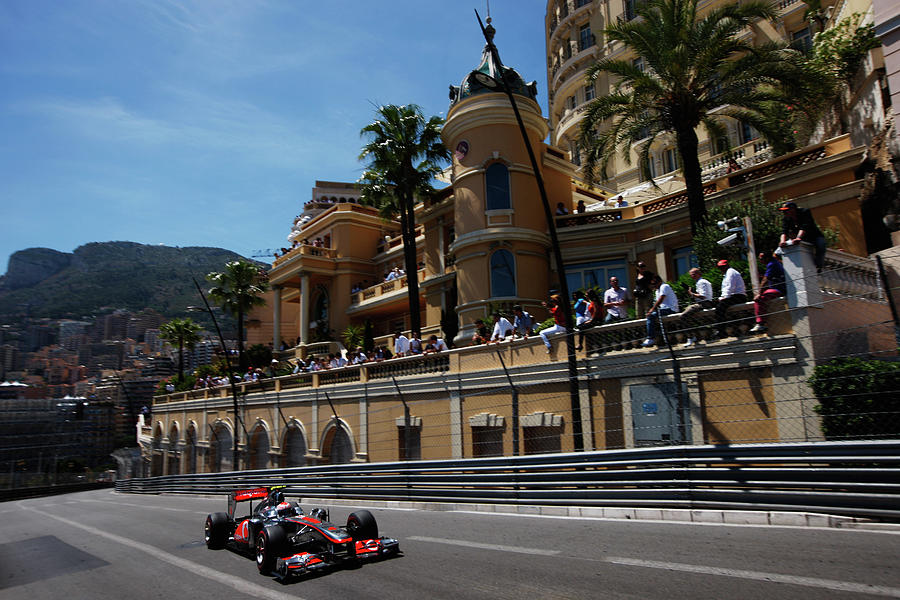 Monaco F1 Grand Prix - Race Photograph by Mark Thompson