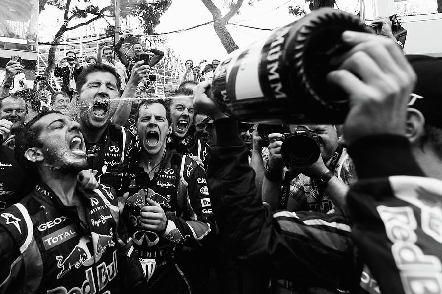 Monaco F1 Grand Prix - Race Photograph by Vladimir Rys
