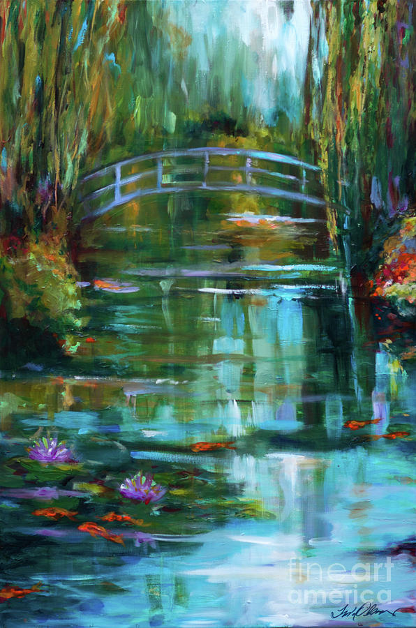 Monet's Garden in Giverney by Linda Olsen