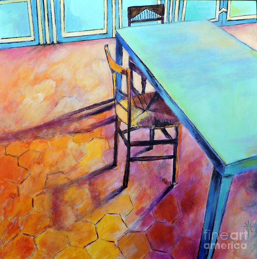 Monet's Kitchen by Jodie Marie Anne Richardson Traugott          aka jm-ART